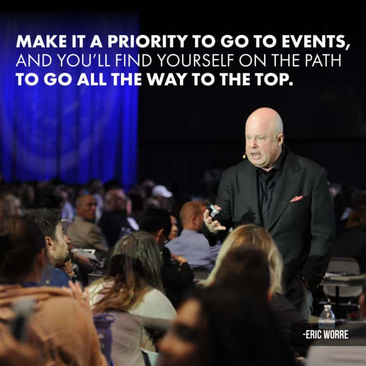 Make Priority to Attend Destination Events in Network Marketing