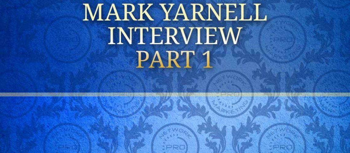 Mark Yarnell Interview Part 1