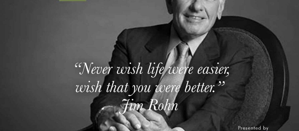 Foundations for Success -- Jim Rohn
